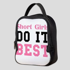 SHORT GIRLS DO IT BEST Neoprene Lunch Bag