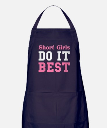 SHORT GIRLS DO IT BEST Apron (dark)