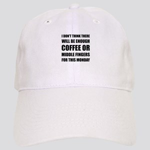 Coffee Middle Finger Baseball Cap