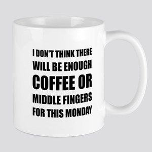 Coffee Middle Finger Mugs