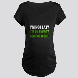 Energy Saving Mode Maternity T-Shirt