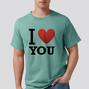 i-love-you-2 Mens Comfort Colors Shirt