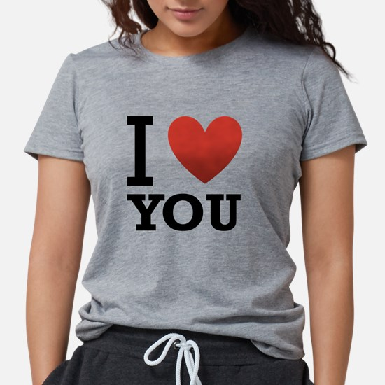 i-love-you-2.png Womens Tri-blend T-Shirt
