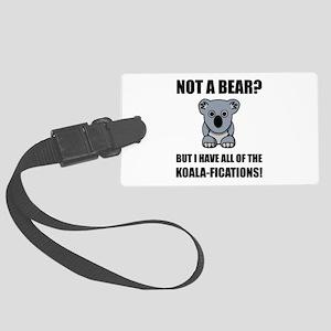 Koala Fications Luggage Tag
