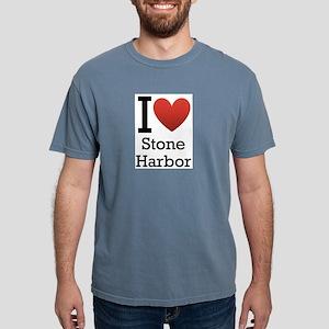 stone harbor rectangle Mens Comfort Colors Shi