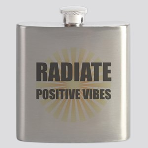 Radiate Positive Vibes Flask
