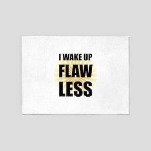 Wake Up Flawless 5'x7'Area Rug