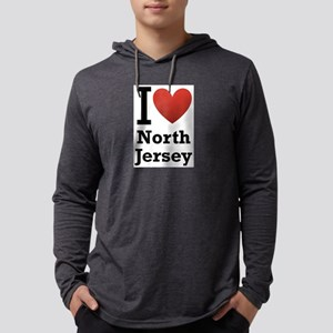 i love north jersey Mens Hooded Shirt