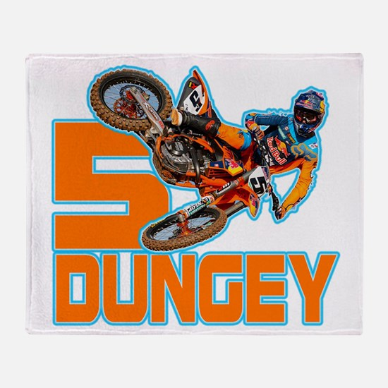 Dungey5 Throw Blanket