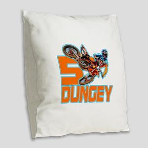 Dungey5 Burlap Throw Pillow