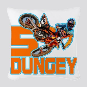 Dungey5 Woven Throw Pillow