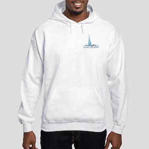 Long Island - New York. Hooded Sweatshirt