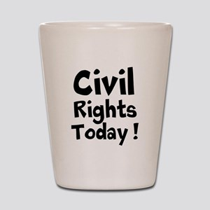 Civil Rights Today Shot Glass