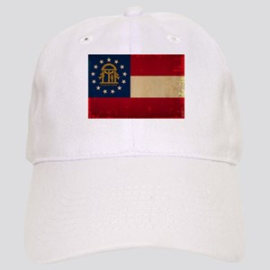 Georgia Flag VINTAGE Baseball Cap