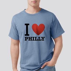 i-love-philly Mens Comfort Colors Shirt