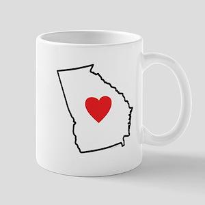 I Love Georgia Mugs