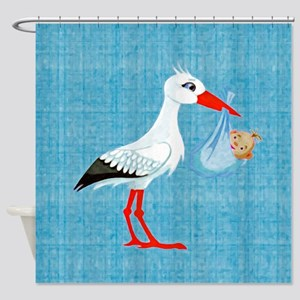 Boy Bundle of Joy Shower Curtain