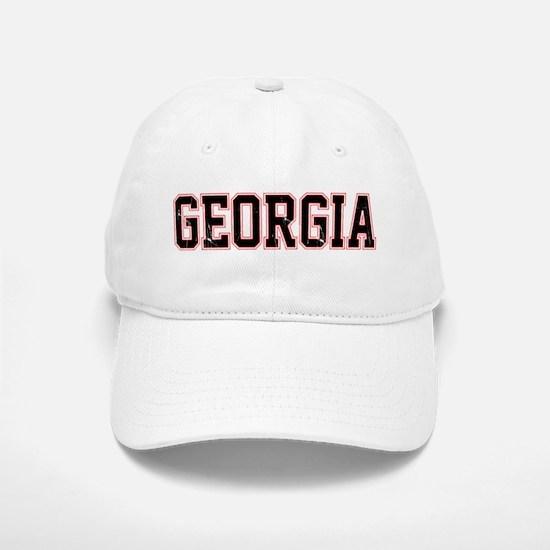Georgia - Jersey Vintage Baseball Baseball Baseball Cap