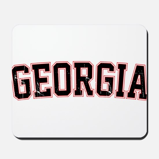 Georgia - Jersey Vintage Mousepad