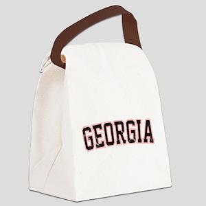 Georgia - Jersey Vintage Canvas Lunch Bag