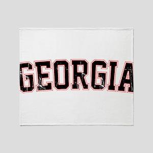 Georgia - Jersey Vintage Throw Blanket