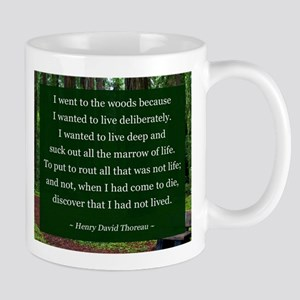 Henry David Thoreau Mugs