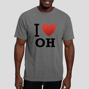 I-Love-Ohio Mens Comfort Colors Shirt