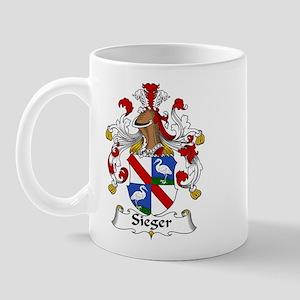 Sieger Family Crest Mug