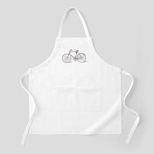Vintage Bicycle BBQ Apron