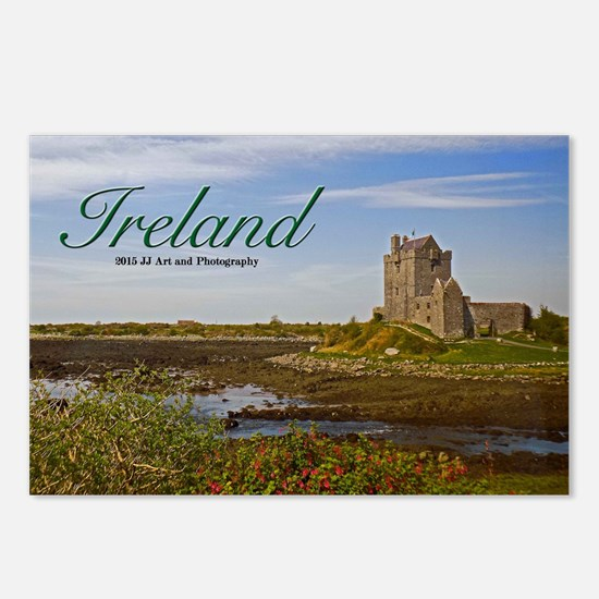 Ireland - Country Castle Postcards (package Of 8)