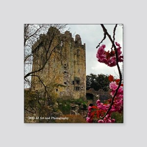 "Blarney Blossom Square Sticker 3"" X 3"""