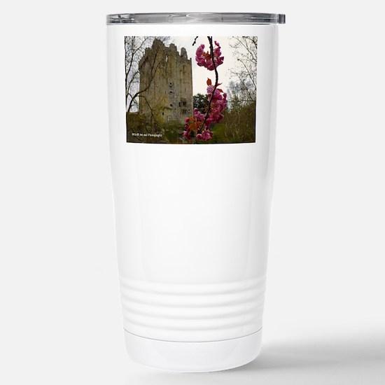 Blarney Blossom Stainless Steel Travel Mug