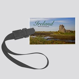 Ireland - Country Castle Large Luggage Tag