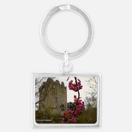 Blarney Blossom Landscape Keychain Keychains