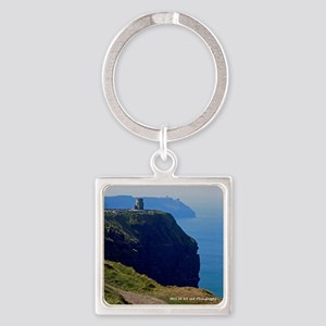 Cliffs Of Mohar Square Keychain Keychains
