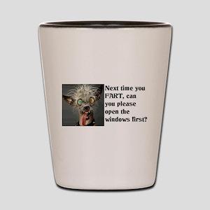 Funny Fart Shot Glass