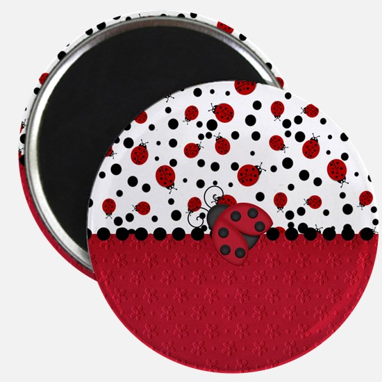 Ladybugs and Dots Magnets
