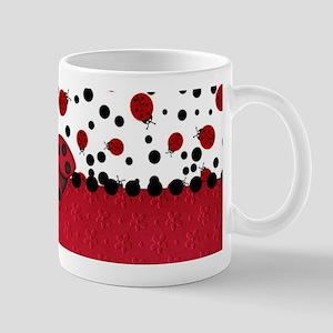 Ladybugs and Dots Mugs
