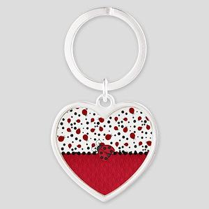 Ladybugs and Dots Keychains