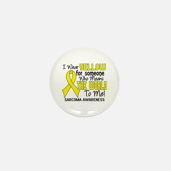 Sarcoma MeansWorldToMe2 Mini Button