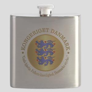Danmark Emblem Flask