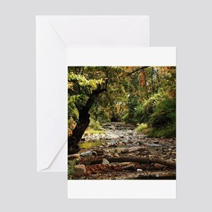 Country creek Greeting Cards