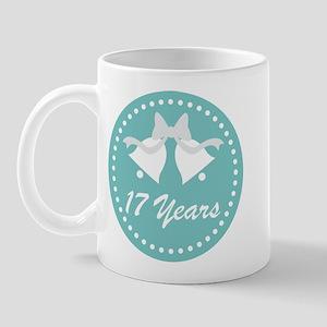 17th Anniversary Wedding Bells Mug