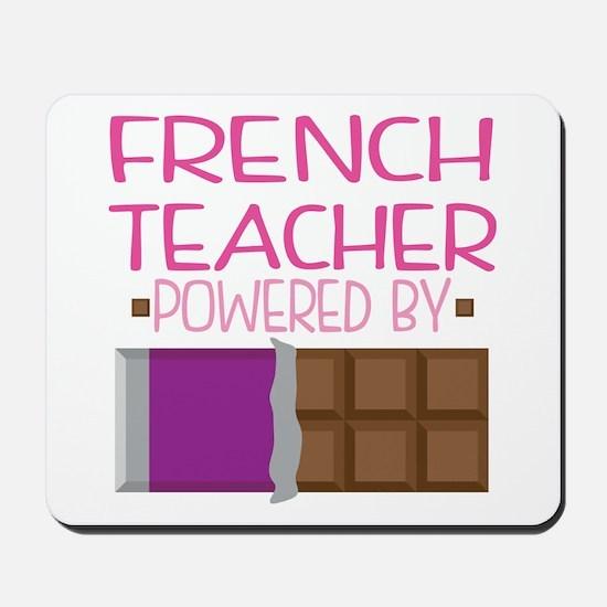 French Teacher Mousepad