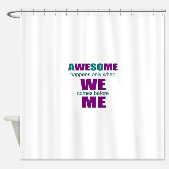 Self-employed Shower Curtain