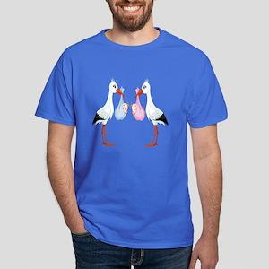 Stork Twins Dark T-Shirt