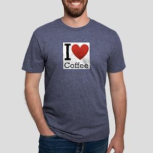 I love coffee Mens Tri-blend T-Shirt
