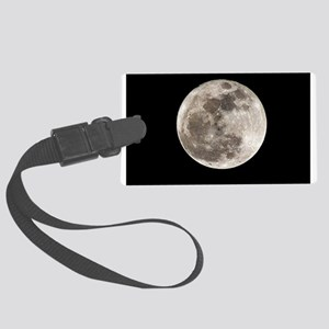 Full moon Large Luggage Tag