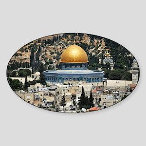 Dome of the Rock, Temple Mount, Jerusalem, Sticker