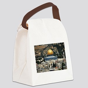 Dome of the Rock, Temple Mount, J Canvas Lunch Bag